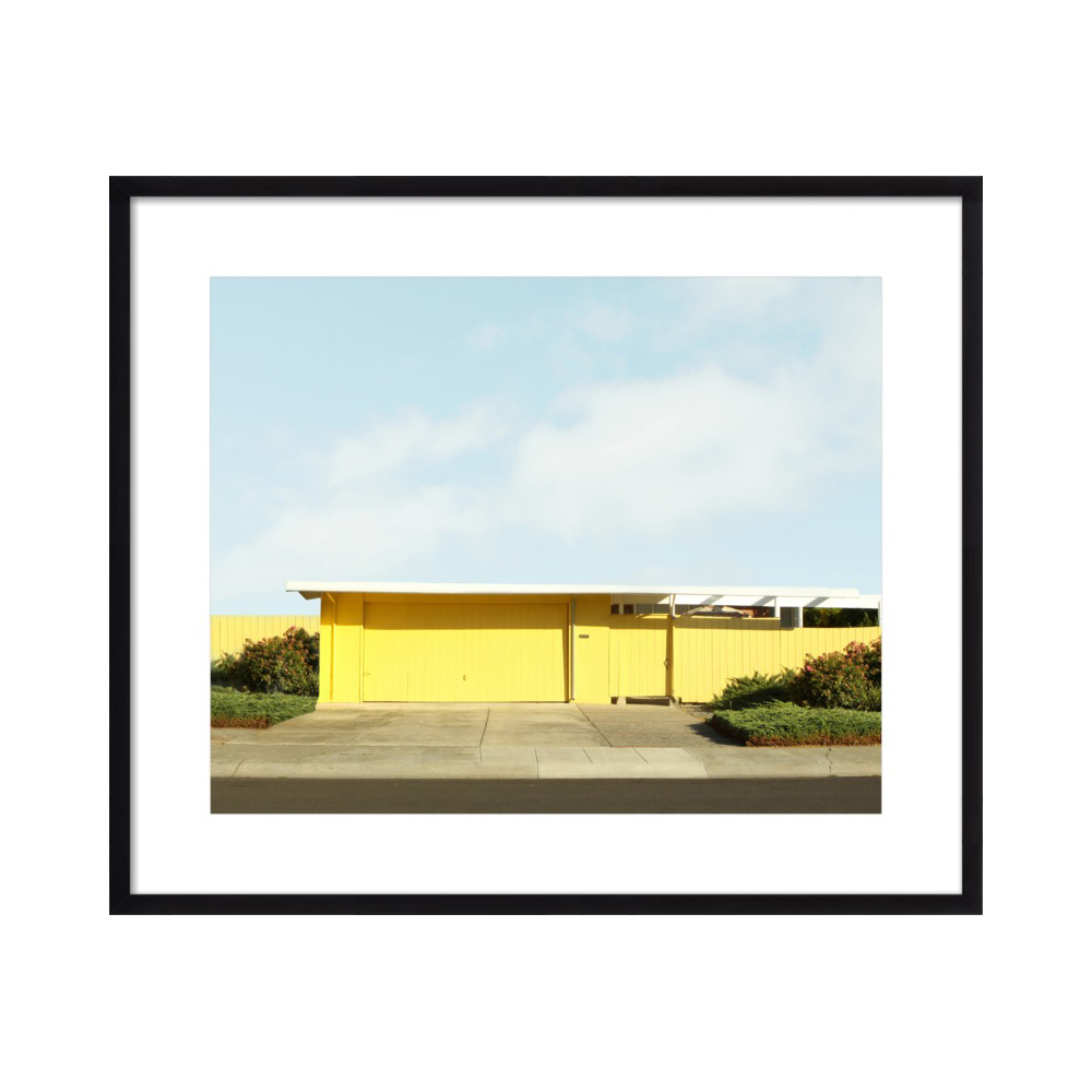 Yellow Eichler in Suburbia by Lucy Snowe