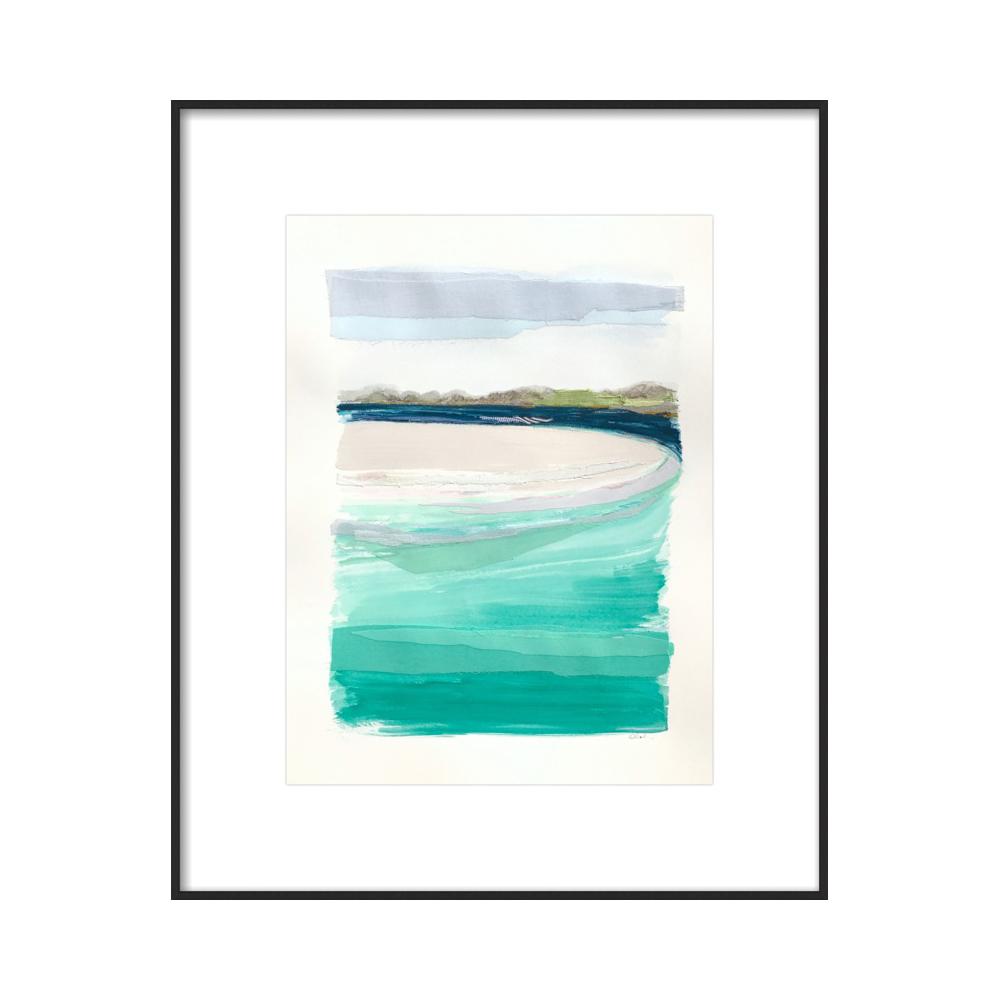 Water Colors 4 by Karin Olah