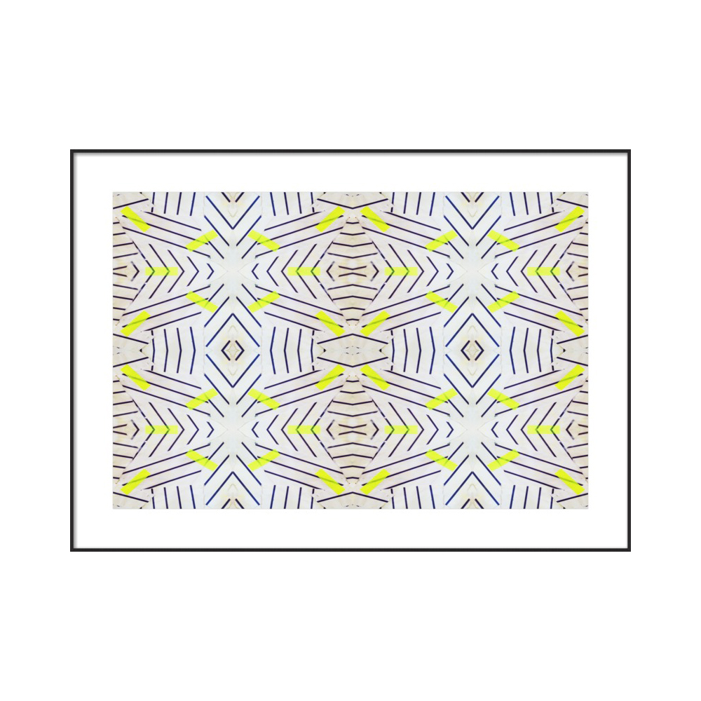 Yellow Zebra by Kristi Kohut