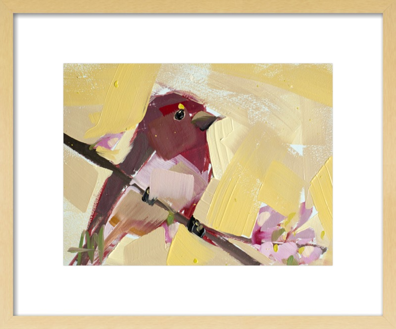 Rose Finch no. 15 by Angela Moulton