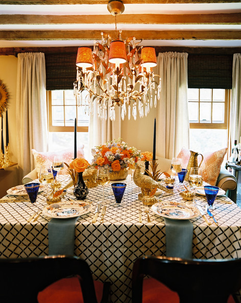 Thanksgiving day by  Eddie Ross and Jaithan Kochar . Photography by Patrick Cline for  Lonny .