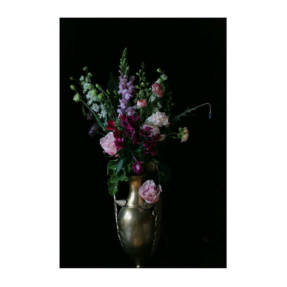 Flowers in a Vase by Emilia Jane Schobeiri