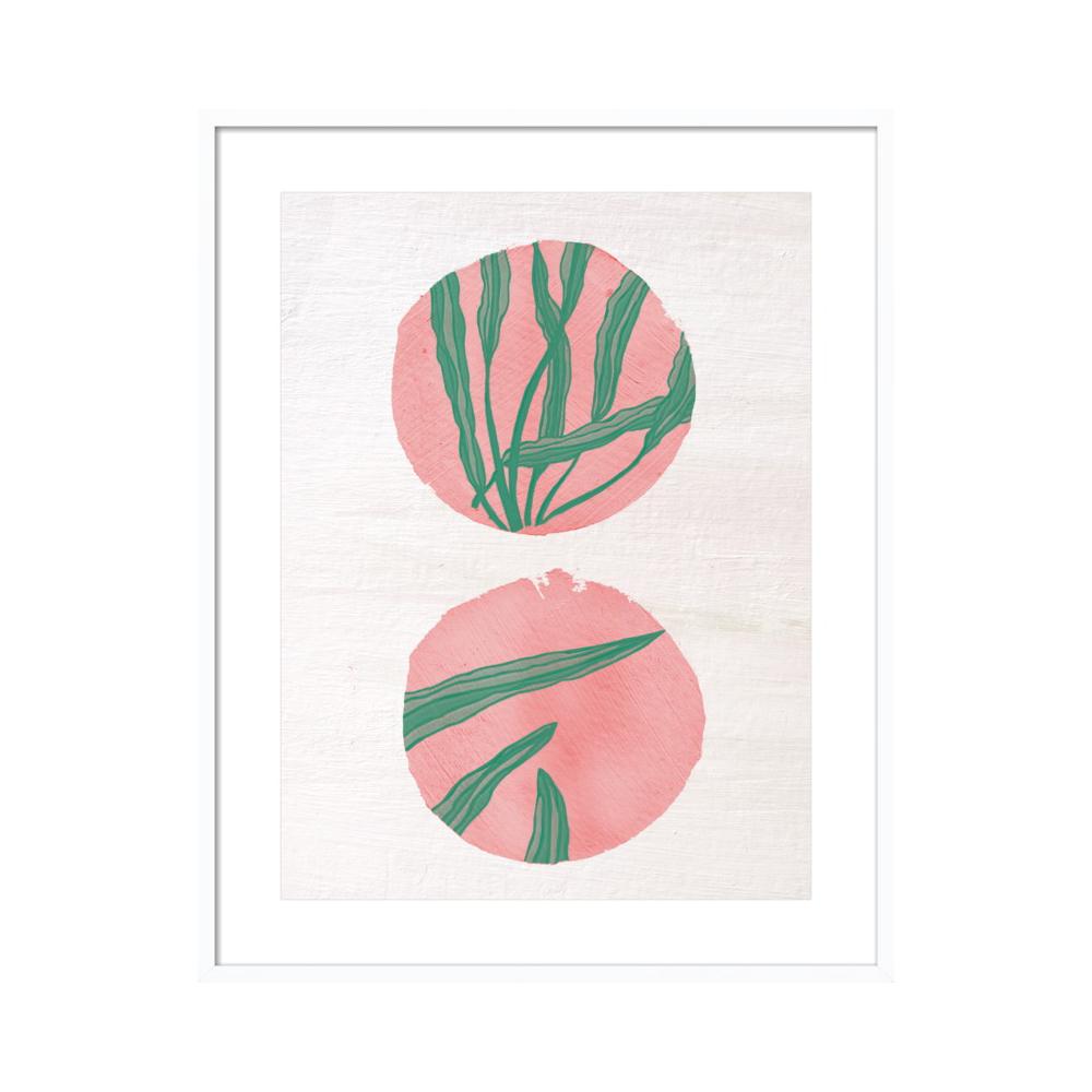 Pink Circles by Ruti Shaashua