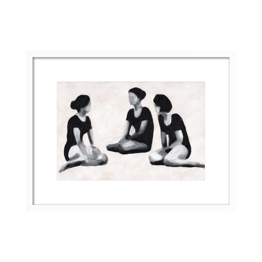 Dancers at Rest by Tali Yalonetzki