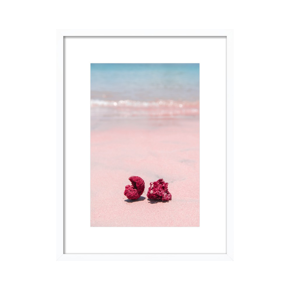 Pink Sand Beach Indonesia by Carley Rudd