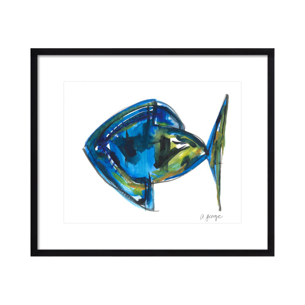 Abstract Fish by Anthony George