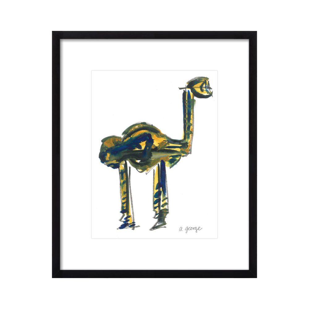 Abstract Camel by Anthony George