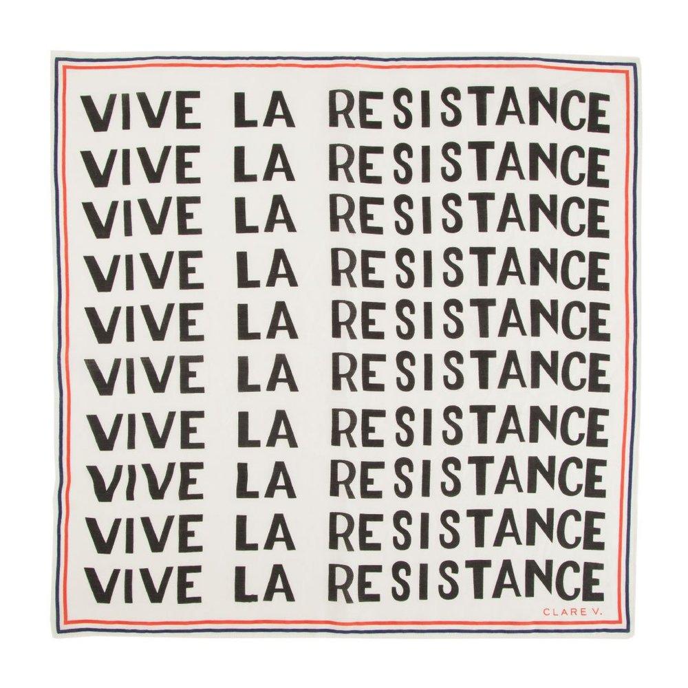 Bandana Vive La Resistance Regular price