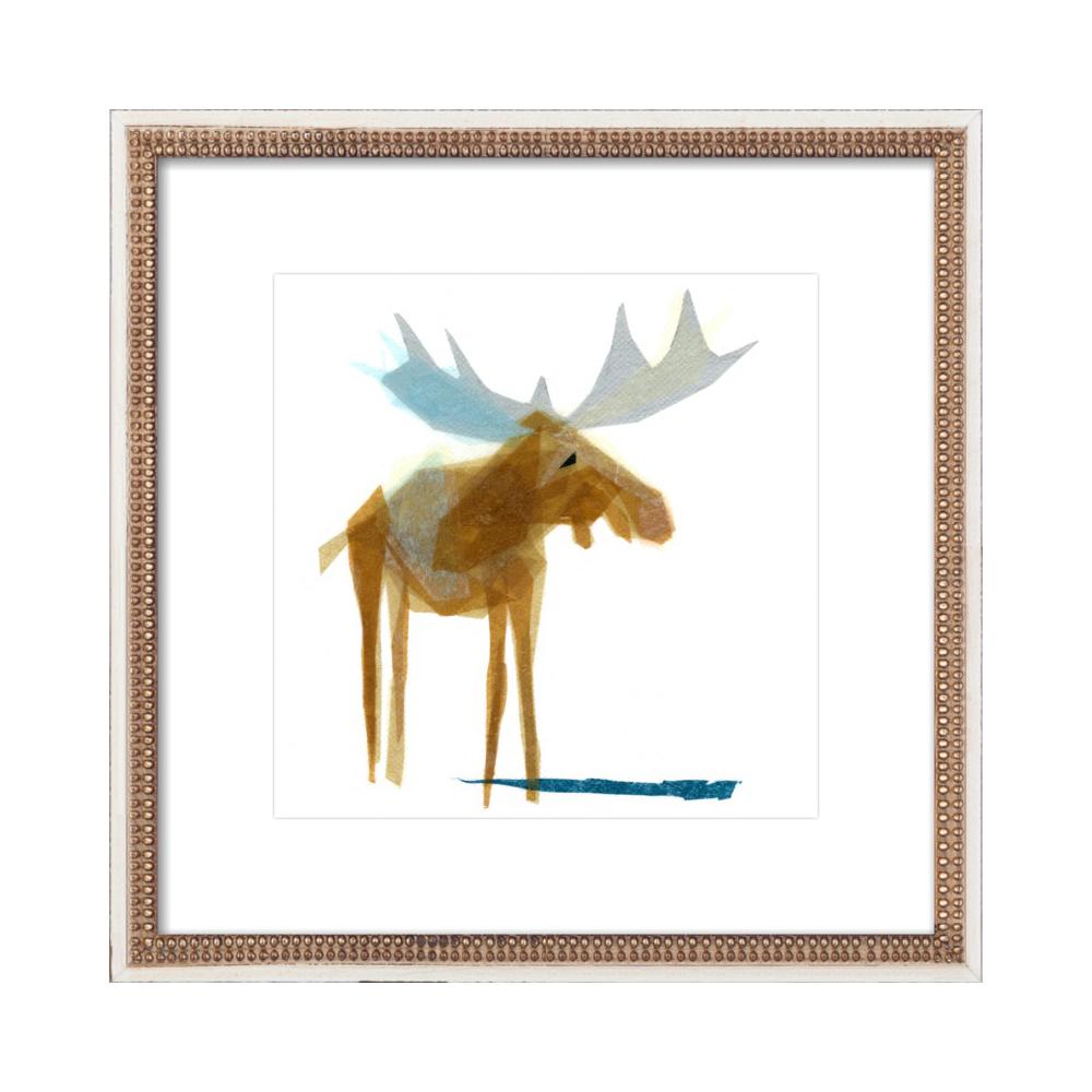 Heathcliff Moose by Darrah Gooden