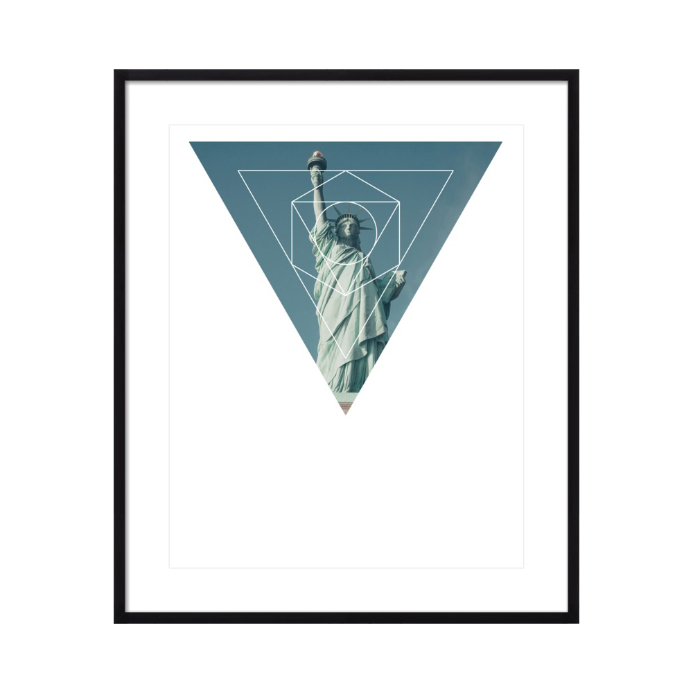 Statue of Liberty - Geometric Photography by Emiliano Deificus