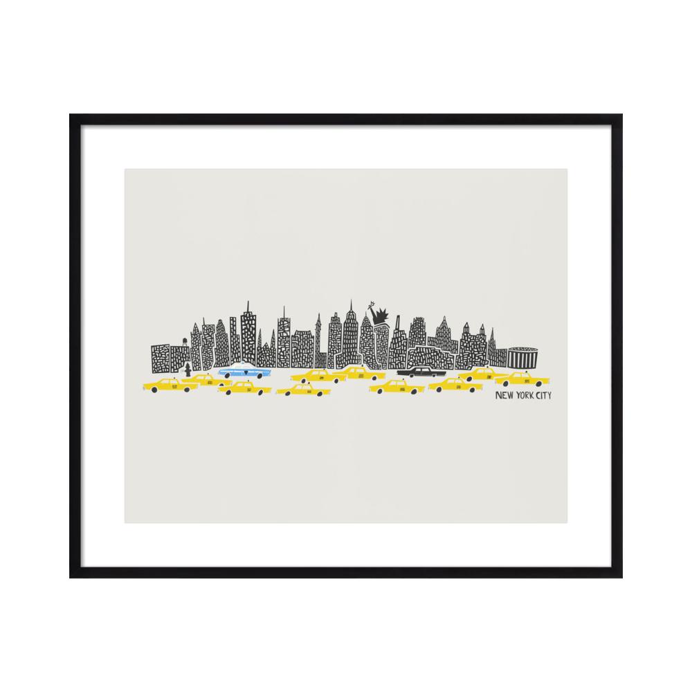 New York Skyline by Mark & Suumin - Fox & Velvet