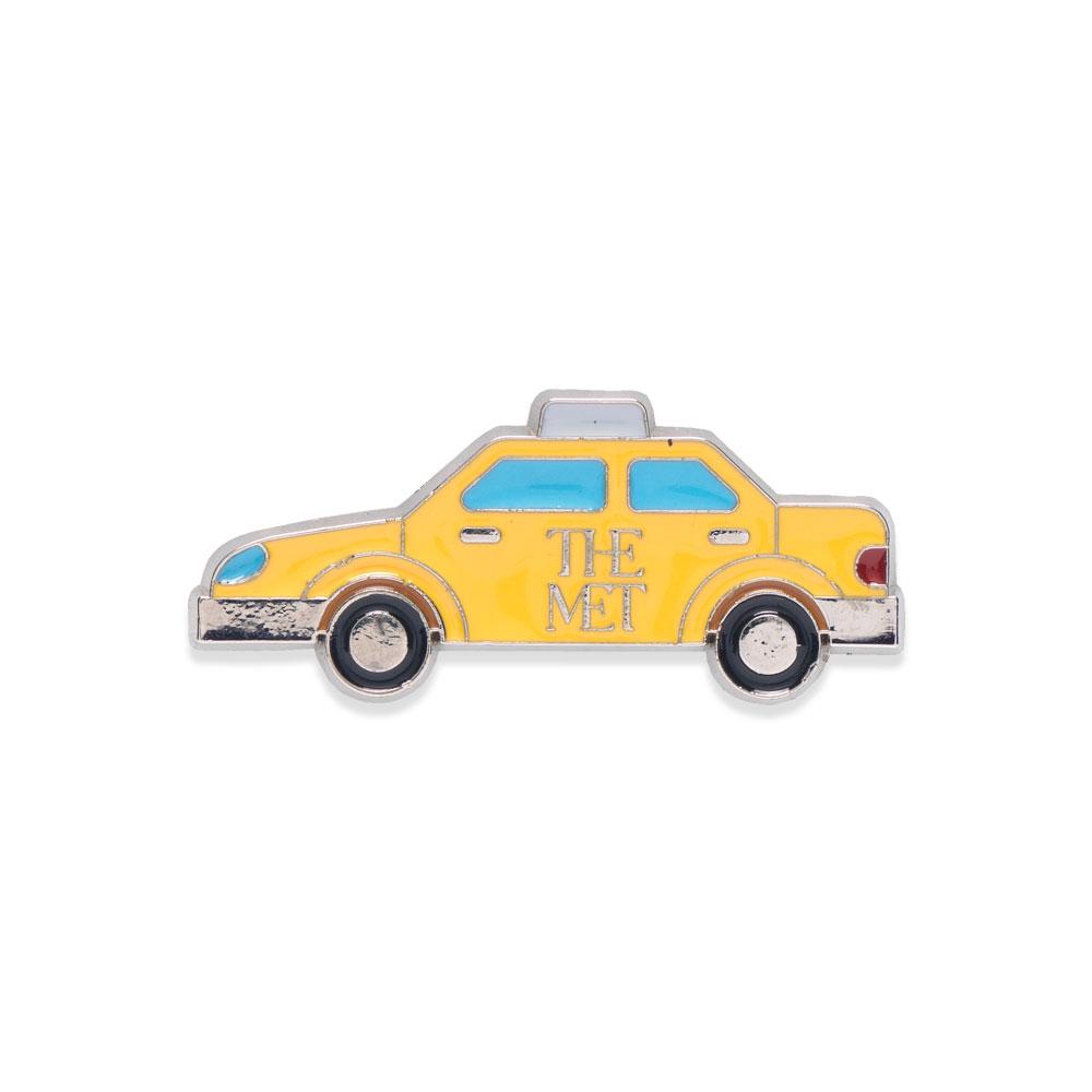 The Met Yellow Taxi Enamel Pin