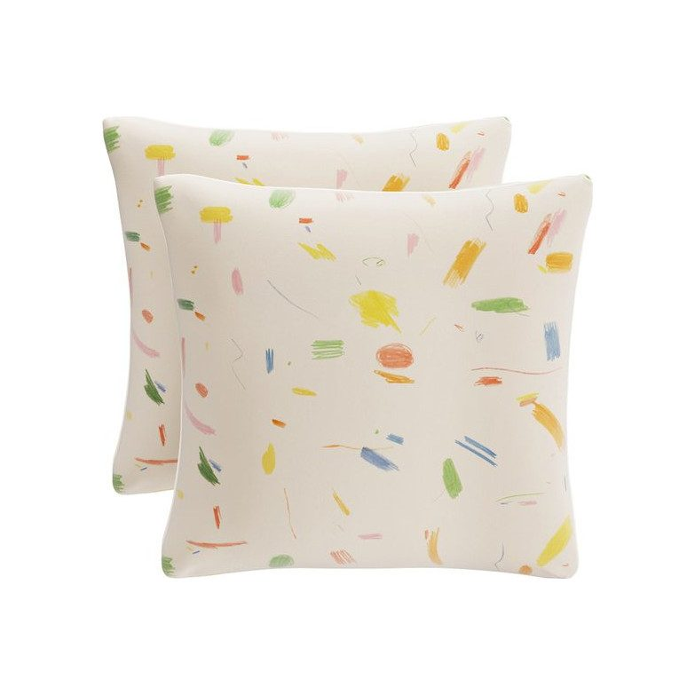 "The Inside x Maisonette 20"" Throw Pillow, Maisonette Doodle"