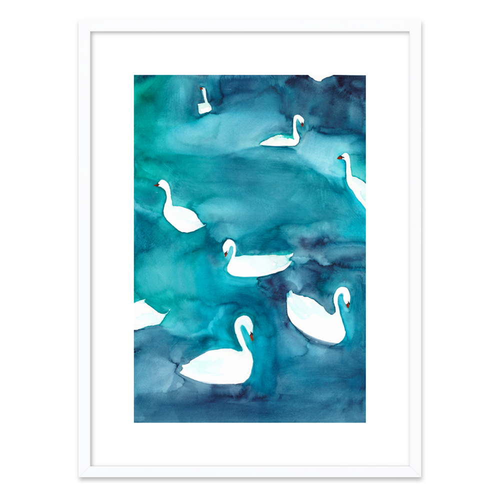 Swans  BY CHRISTINE LINDSTROM