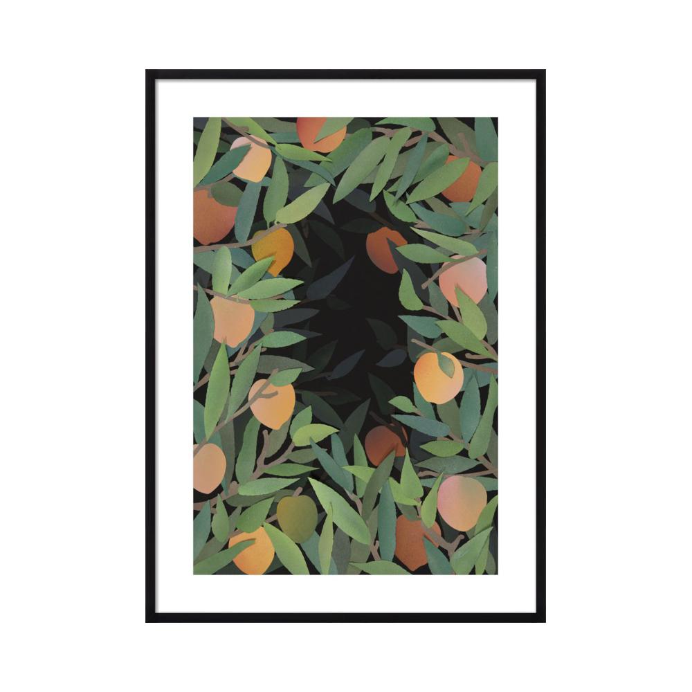 Peach Tree At Night  BY RANKIN WILLARD