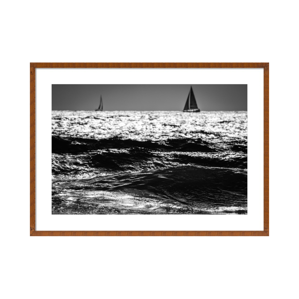 Two Sailboats  BY TAL PAZ-FRIDMAN