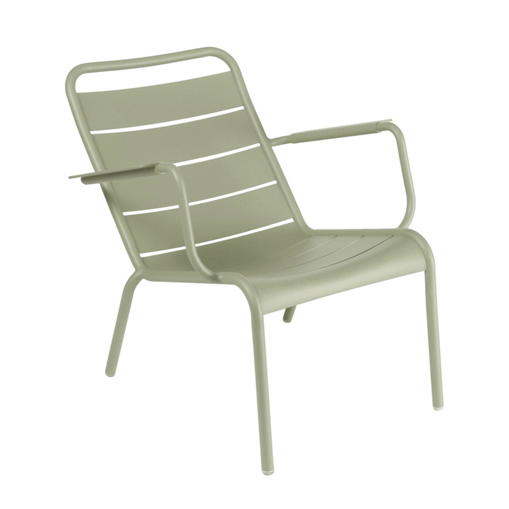 Luxembourg Steel Low Chair