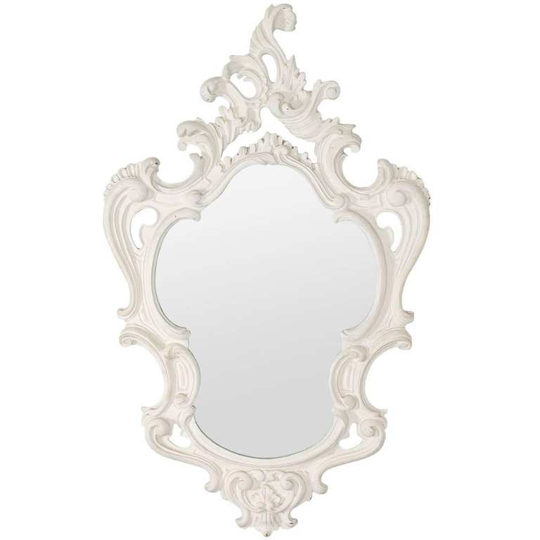 Dorothy Draper Style Baroque Mirror