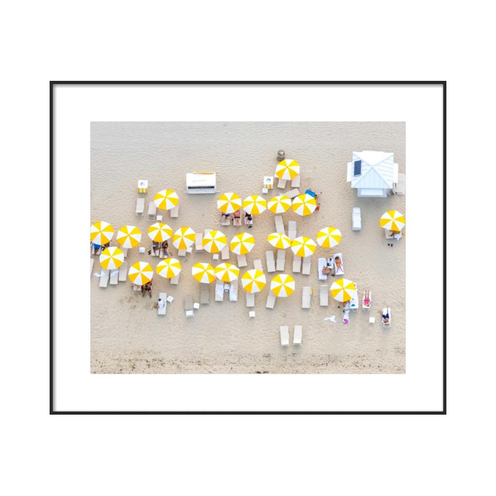Yellow Umbrellas II  BY CLAUDIA CHLOE