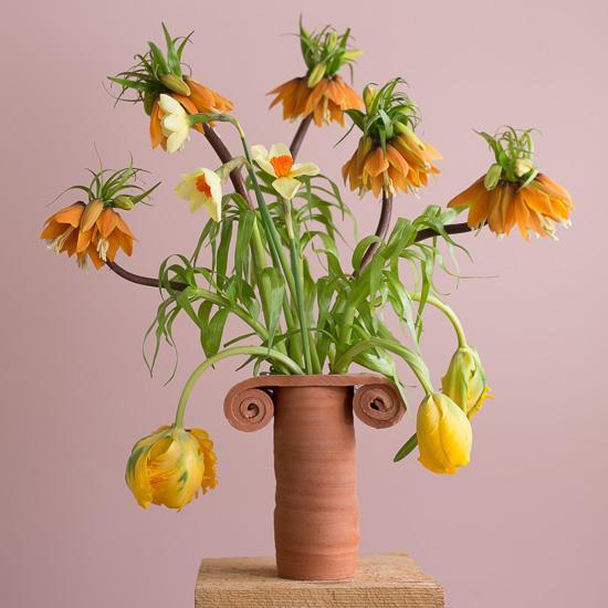 Terra Cotta Doric Vase
