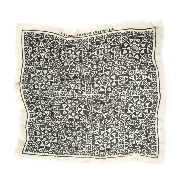 Renaissance Lace Pattern Scarf