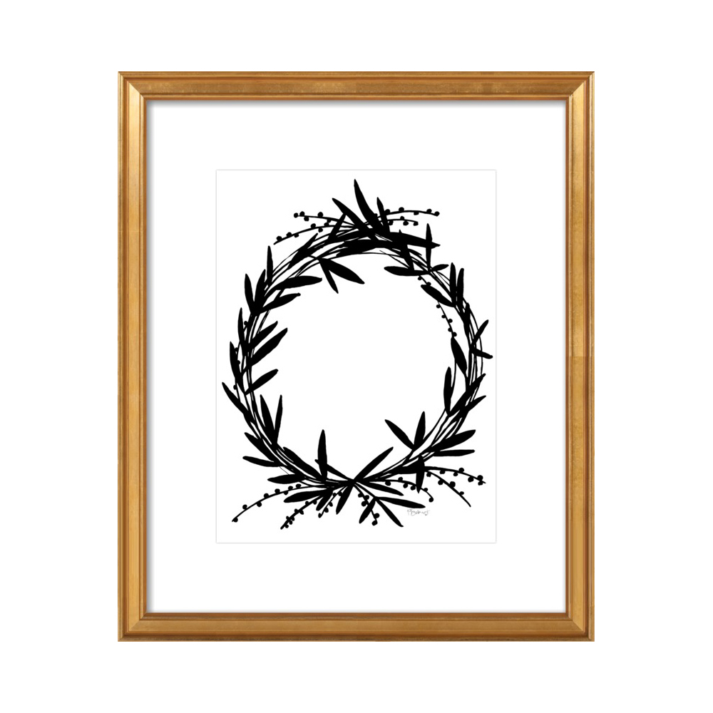 Black Wreath  BY KATE ROEBUCK