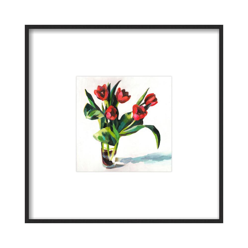 Red Tulips  BY TALI YALONETZKI