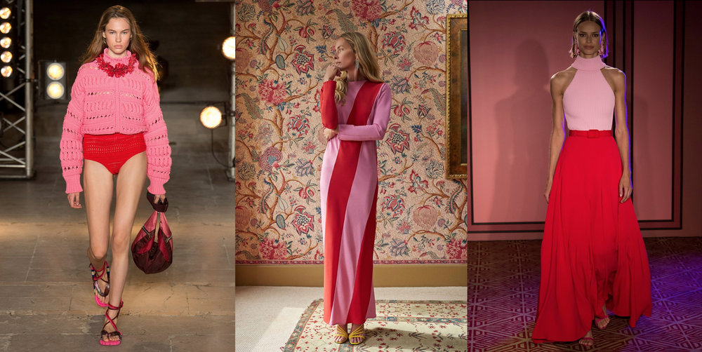 Spring/Summer 2018 runway looks from  Isabel Marant, Attico and Brandon Maxwell .