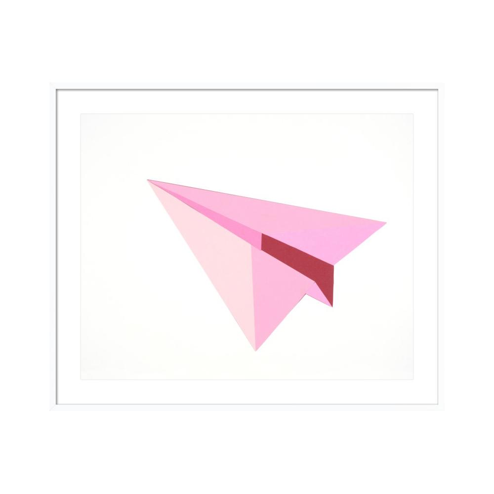 Paper Planes (Pink)  BY RANKIN WILLARD