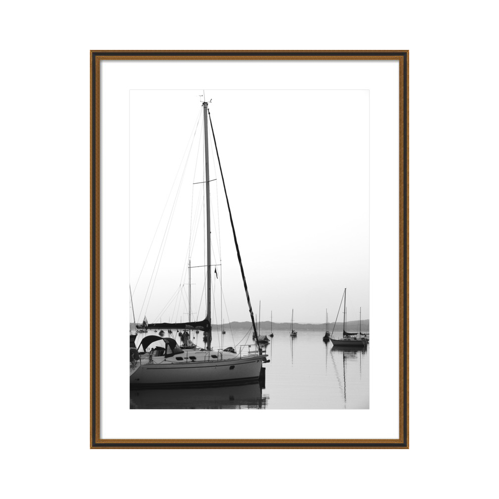 Harbor Morning  BY ALICIA BOCK