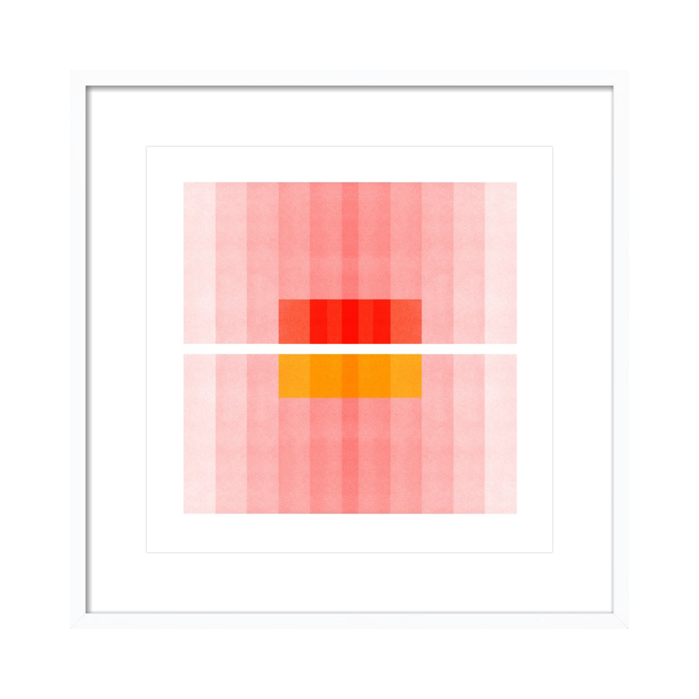 Color Space 27 - Pink, Red, Yellow  BY JESSICA POUNDSTONE