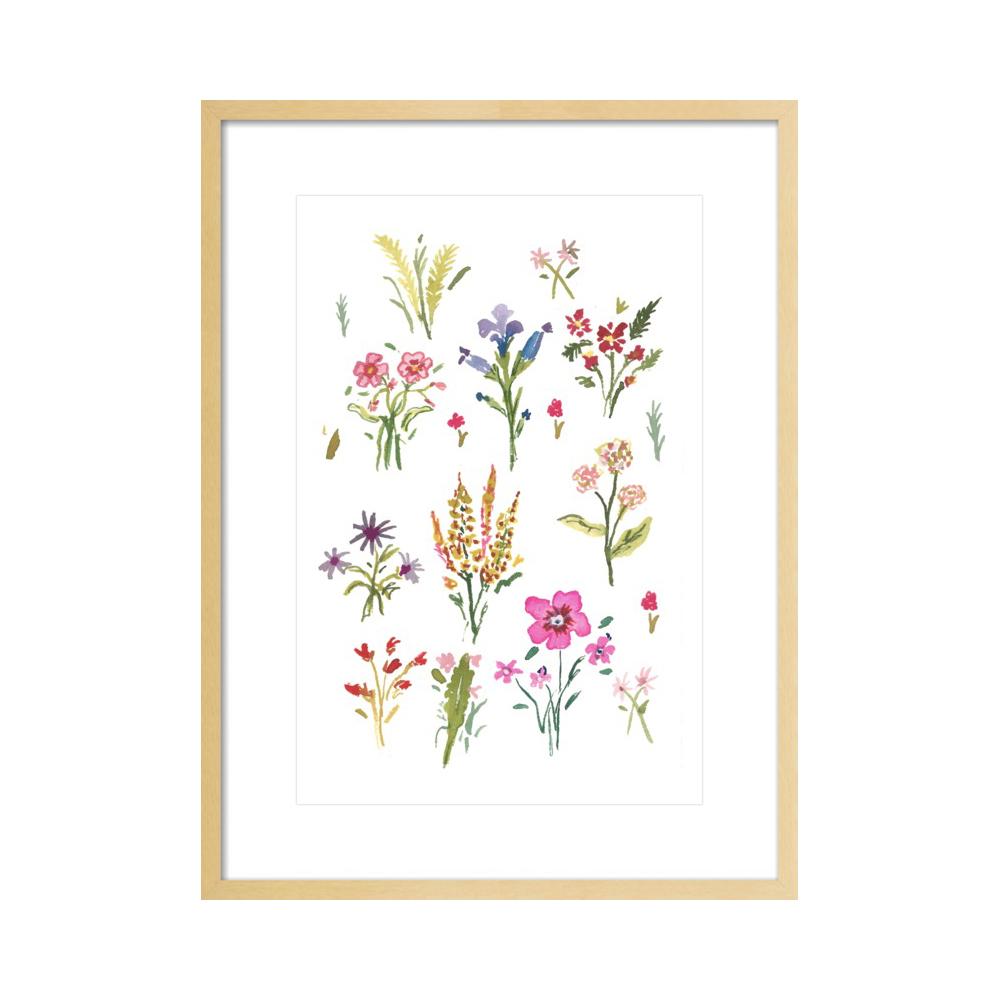 Wildflowers  BY LARSEN MCDOWELL