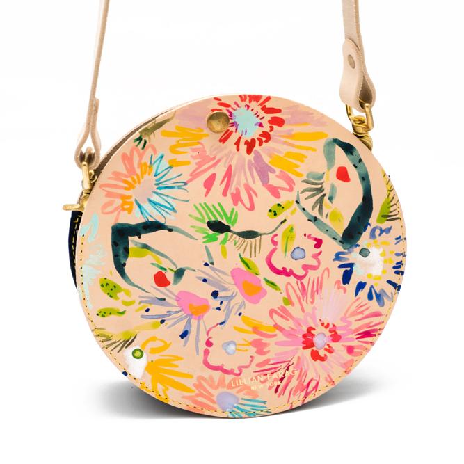 Amelia Floral Circle Bag