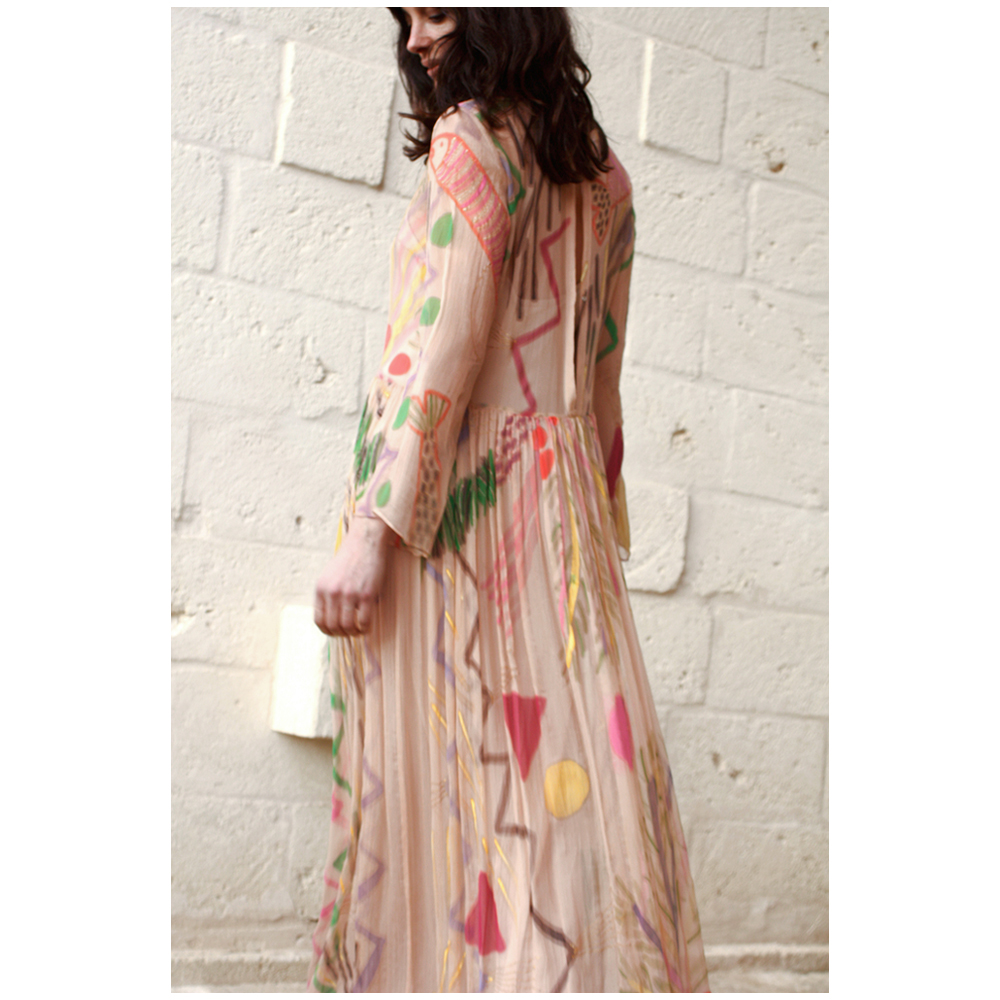 Camilla Open Back Maxi Dress