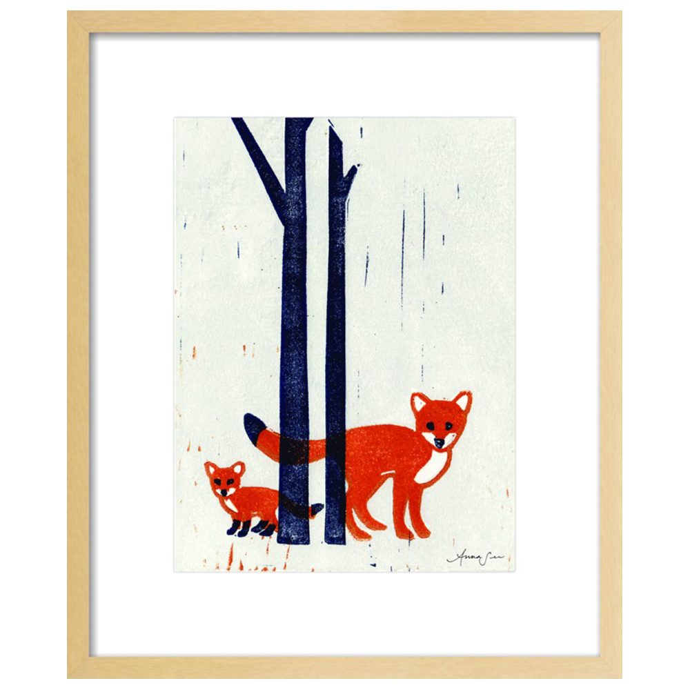 Foxes  BY ANNA SEE