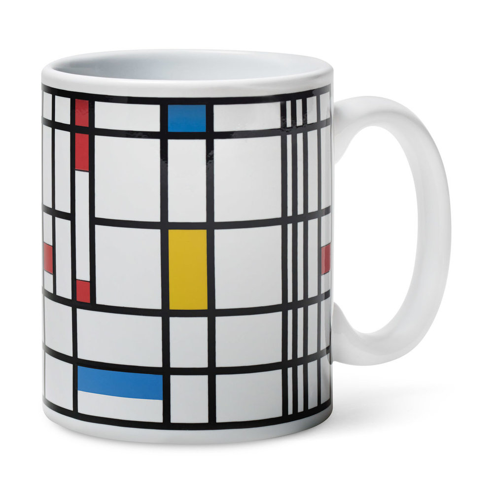 Mondrian Color-Changing Mug