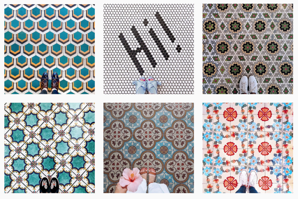 Top posts from Instagram's trending hashtag,  #Ihavethisthingwithfloors