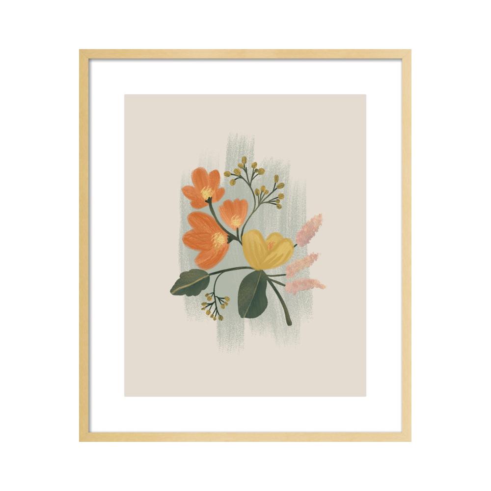 Vintage Floral Bouquet  BY NANCY NORETH