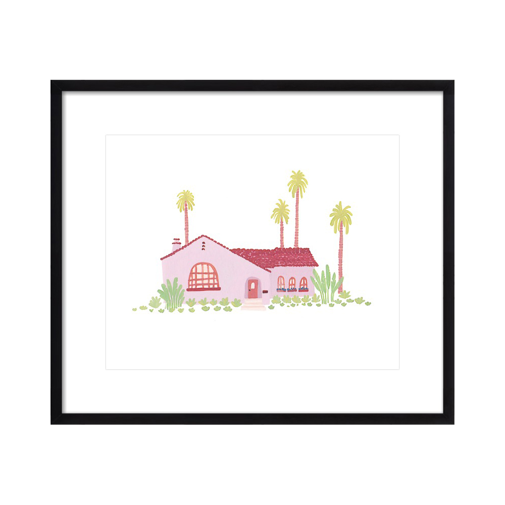 Pink Bungalow  BY TAYLOR ANN
