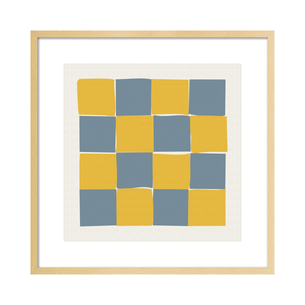 Checkered 1  BY KATHERINE PLUMB