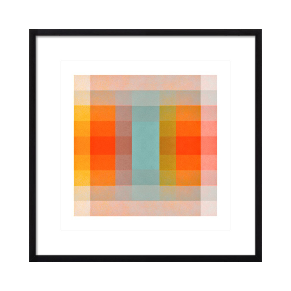 Color Space 40: Turquoise, Persimmon & Saffron  BY JESSICA POUNDSTONE