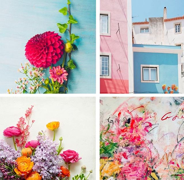 We're feeling Spring are you? 🌺🌸 Seen here: Summer Bloomed in Her Heart by Olivia Joy StClaire, Lisbon Pink and Blue by Lupen Grainne, Spring Garden Blooms by Lupen Grainne, Garden by Sandy Welch