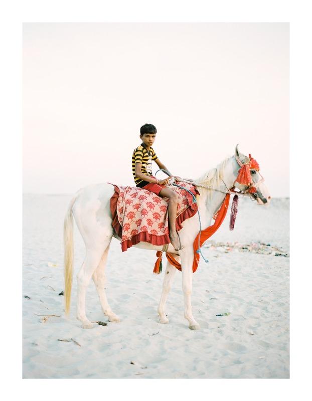 Boy on Horse  BY ANDREW JACONA