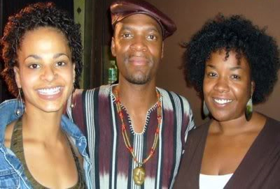 Redsun Productions co-founder  Teniece Divya Johnson ,  M1  of   Dead Prez   and  Kashi Johnson.
