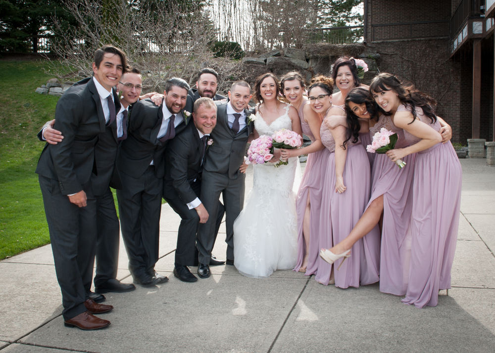 Greatest Bridal Party EVER!