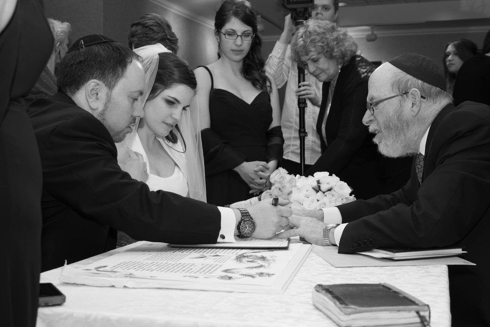 Toronto Jewish wedding at Peter and Paul the manor