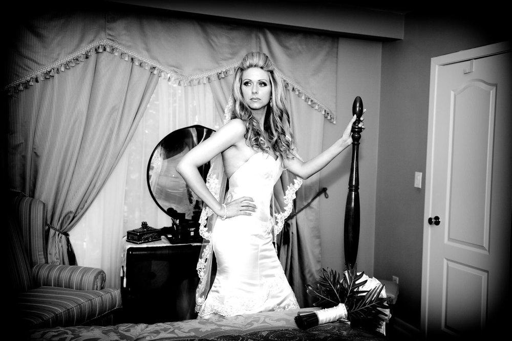 Italian Bride Toronto Wedding photography portrait