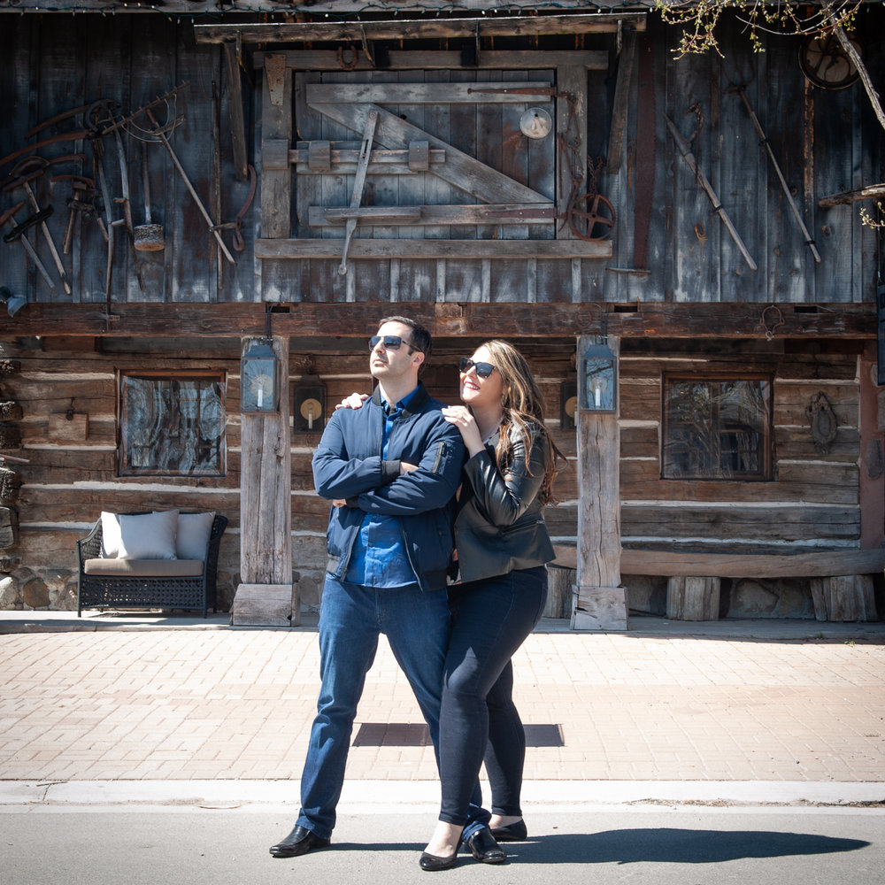 No permits for Kleinburg Engagement Photography