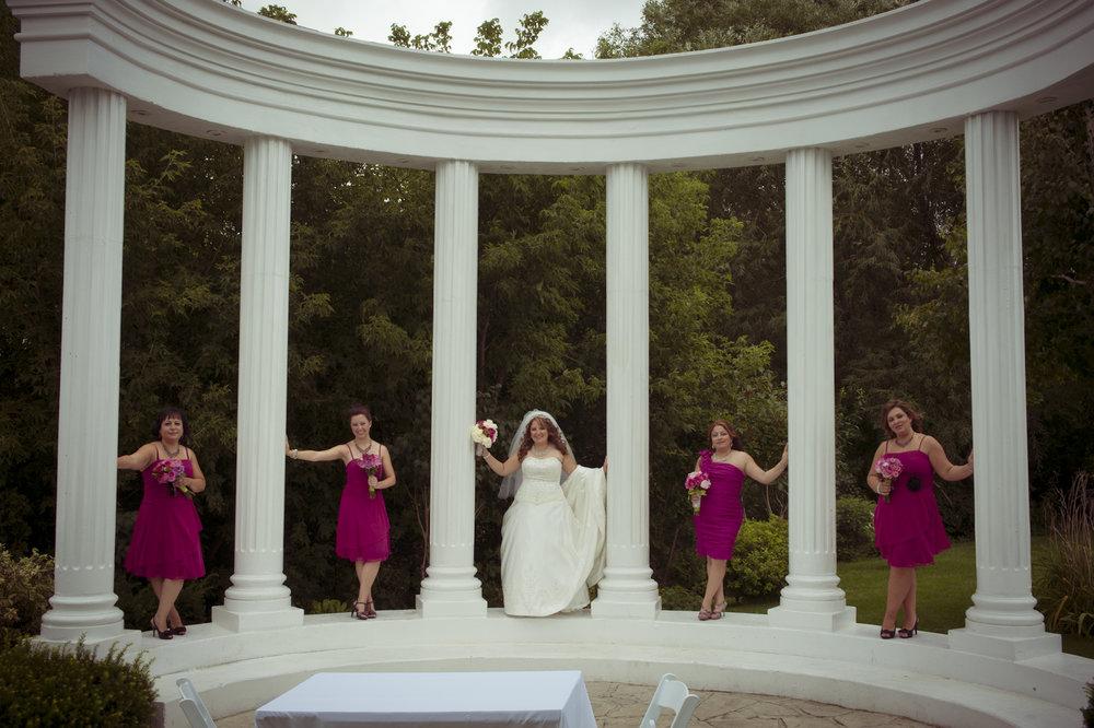 Paradise Banquet Hall Atrium Wedding