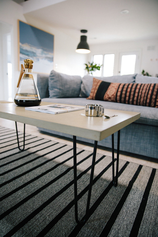 Concrete Coffee Table - Design by Opus Artisan Concrete